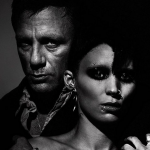 The Girl with the Dragon Tattoo (2011) – Directed by David Fincher and starring Daniel Craig, Rooney Mara, Christopher Plummer, Stellan Skarsgård. (Photo: Instagram, @bat_in_my_belfry)