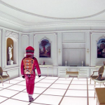 2001: A Space Odyssey (1968) – Directed by Stanley Kubrick and starring Keir Dullea, Gary Lockwood, William Sylvester, Daniel Richter. (Photo: Instagram, @densavchinskiy)