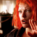 The Fifth Element (1997) – Directed by Luc Besson and starring Bruce Willis, Milla Jovovich, Gary Oldman, Ian Holm. (Photo: Instagram, @thefilmframe)