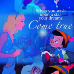 """When You Wish Upon a Star"" by Leigh Harline and Ned Washington in Pinocchio (1940) (Photo: Instagram, @another_disney_dreamer)"