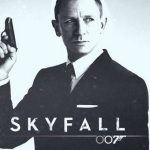 """Skyfall"" by Adele Adkins and Paul Epworth in Skyfall (2012) (Photo: Instagram, @valeria_imperatore)"