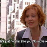 Cynthia Nixon - Miranda Hobbes in Sex and the City (Photo: Instagram, @mauriccio)