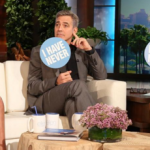 George Clooney and Rihanna made some of their dirty secrets public on Ellen's show. (Photo: Instagram, @theellenshow)