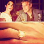 Clooney said he used his mature age as incentive to get his answer quicker. (Photo: Instagram, @bridalbeautician)