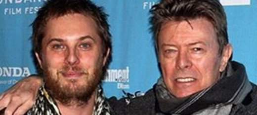 David Bowie received some amazing news from his son Duncan Jones days before his death. (Photo: Instagram, @whomagazine)