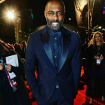 Best Supporting Actor nominee Idris Elba looked dashing on the red carpet, but couldn't bag the award for his role in Beasts of No Nation. (Photo: Instagram, @theseptemberstandard)
