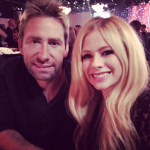 Avril Lavigne and Chad Kroeger sparked reconciliation rumors after posing together at a pre-Grammy party. (Photo: Instagram, @avrillavigne)