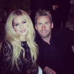 The pair seemed very cozy at the party preceding Monday's Grammy Awards ceremony. (Photo: Instagram, @avrillavigne)