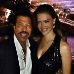 Lionel Richie is pictured here with JETSS co-founder Camila Alves in Miami. (Photo: JETSS)
