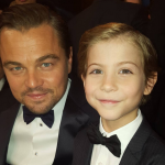 This picture with Oscar-winner Leonardo DiCaprio at the SAG Awards will surely become a #TBT in a few years…(Photo: Instagram, @jacobtremblay)