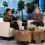 Kris Jenner has said she finds it confusing that Caitlyn Jenner wants to date men. (Photo: Instagram, @theellenshow)