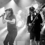 The Australian rockers play a notoriously loud style of hard rock that has taken its toll on the 68-year-old Johnson's hearing. (Photo: Instagram, @acdc)