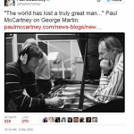 Paul McCartney – The Beatles' bassist, singer and songwriter. (Photo: Twitter, @PaulMcCartney)