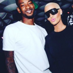 Amber Rose has revealed she is dating basketball player Terrence Ross. (Photo: Instagram, @3tross1)