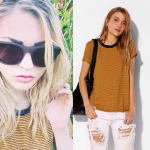 Frances Bean Cobain – Creatively thought up by Kurt Cobain and Courtney Love. (Photo: Instagram, @francesbeanoutfits)