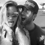 Adam Levine and Behati Prinsloo are reportedly buzzing over the pregnancy news. (Photo: Instagram, @adamlevine)
