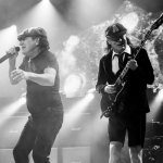 Johnson joined AC/DC in 1980 after the death of Bon Scott. (Photo: Instagram, @acdc)