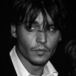 Johnny Depp dropped out to pursue a music career. (Photo: Instagram, @blackandwhitelyfe)