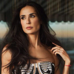Demi Moore dropped out to pursue an acting career. (Photo: Instagram, @_demimoore)