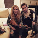 Avril Lavigne dropped out after signing a record deal. (Photo: Instagram, @avrillavigne)