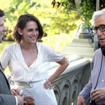 Woody Allen is only 5'4'' tall. (Photo: Instagram, @immortalkristen)