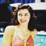 Esther Williams is a former swimmer. (Photo: Instagram, @little_shop_of_classics)