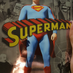 1. Superman (1948) – Clark Kent/Superman played by Kirk Alyn. (Photo: Instagram, @doc_jensen)