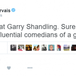 Ricky Gervais – Actor, comedian and writer. (Photo: Twitter, @rickygervais)