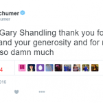 Amy Schumer – Actress and comedienne. (Photo: Twitter, @amyshumer)