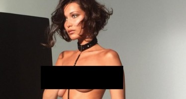 "Bella Hadid: ""Sorry for going topless, mama!"""