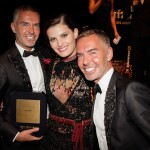 Dean Caten, Isabeli Fontana e Dan Caten (Photo: Courtesy)