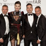 Dean e Dan Caten, Isabeli Fontana e Di Ferrero (Photo: Courtesy)
