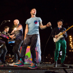 "Coldplay's ""Viva La Vida"" borrows heavily from the Joe Satriani song ""If I Could Fly."" (Photo: Instagram, @coldplay)"