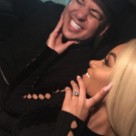 Blac Chyna and Rob Kardashian got engaged after only four months together. (Photo: Instagram, @blacchyna)