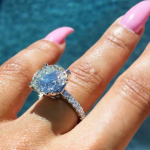 The Kardashian family has been ominously silent about the engagement since Rob popped the question. (Photo: Instagram, @blacchyna)