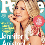 Jennifer Aniston has been named PEOPLE's Most Beautiful Woman of 2016. (Photo: Instagram, @entertainmentweekly)