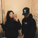 Back then it was only rumoured that Kylie was dating Blac's ex Tyga. (Photo: Instagram, @kyliejenner)