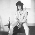 "Gram Parsons – ""We'll Sweep The Ashes Out In The Morning."" (Photo: Instagram, @davidbowie1975)"