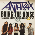 "Anthrax and Public Enemy – ""Bring the Noise."" (Photo: Instagram, @dame3000)"
