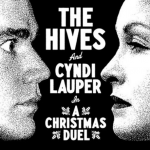 "The Hives and Cyndi Lauper – ""A Christmas Duel."" (Photo: Instagram, @shesyellow)"