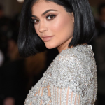 Kylie's voice is severely altered by Auto-Tune, but it is heard on ad-libs on the song. (Photo: Instagram, @kyliejenner)