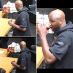 Lamar Odom was seen out drinking at the Beverly Centre mall on Sunday. (Photo: Instagram, @_thegossiptwins)