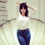 Daisy Lowe – Followed in her teetotaller mother's footsteps to abstain from drinking. (Photo: Instagram, @daisylowe)