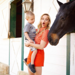 Reese Witherspoon and her pet donkeys (not this horse, of course). (Photo: Instagram, @reesewitherspoon)