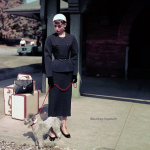 Audrey Hepburn and her pet fawn, Pippin. (Photo: Instagram, @audrey.hepburn)