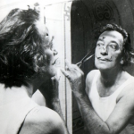 Salvador Dali and his pet anteater. (Photo: Instagram, @salvadordaliart)