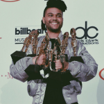 "Top R&B Song – The Weeknd, ""The Hills."" (Photo: Instagram, @the.weeknd)"
