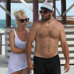 Pamela Anderson filed for divorce from Rick Salomon in February 2015…for a third time! (Photo: Instagram, @hotoffthemess)