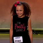 She could not hide her joy at passing her audition and walked over to meet the judges after finishing her dance routine. (Photo: Screenshot, FOX)