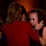 Her stomach turned when Paula Abdul hugged her in celebration. (Photo: Screenshot, FOX)